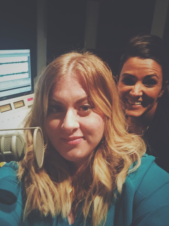 Jillian Pedersen and Lisa on Thighs and Lows Blog Podcast