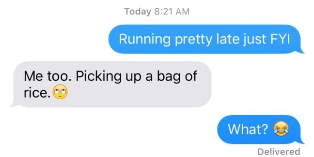 Lisa Text Message