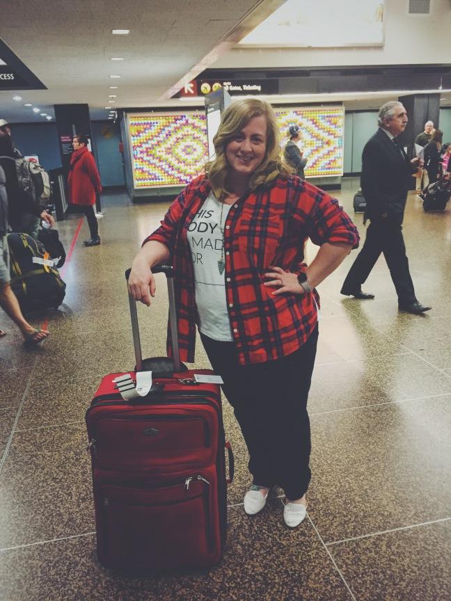 Jillian Pedersen Thighs and Lows Blog Alaska Airlines